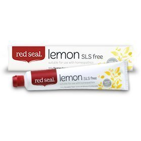 Red Seal Natural Lemon SLS Free Toothpaste That's Mint-free