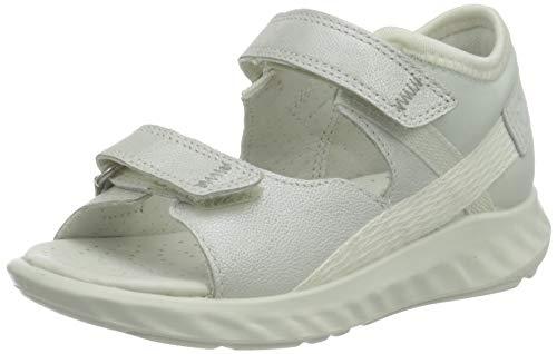ECCO Baby-Mädchen SP.1 Lite Infant Flat Sandal, weiß(White), 21 EU