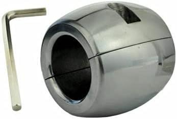 sKaxpu Ballstretcher Lourd 6cm Forme Donut 840gr métal Acier inoxydable Ball Stretcher