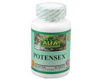 Alfa Vitamins Potensex 60 tabs Enhance Sexual Desire Potency Energy