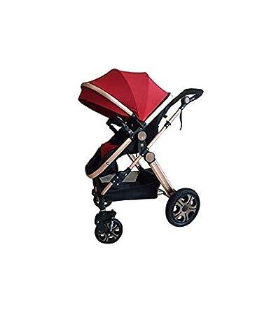 """Babywanne Kinderwagen /""""Florida/"""" 3 in 1 Kombikinderwagen inkl Sportwagen und Zubeh/ör zertifiziert nach der Sicherheitsnorm EN1888 Beige"""