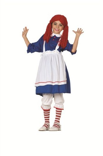 RG Costumes Rag Doll Costume, Child Large, Blue for $<!--$17.63-->