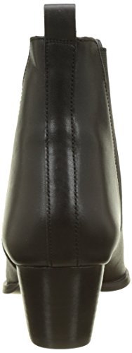 Femme Office Leather Azalea Bottines Noir 00078 Black qqEOg6wcWB