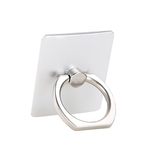 Cell Phone Ring Holder Stand,CaseHQ Finger Grip Loop Mount 360 Degree Rotation Universal Smartphone Kickstand for iPhone X 8 7 7Plus Samsung Galaxy S9 S9 Plus S7 S8 LG Google (Silver) -