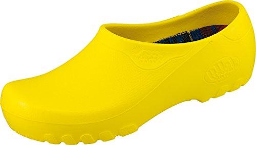 Jolly Gelb Gartenclogs stylischen Fashion Farben 4 Gartenschuhe in 7TZ1O7fq