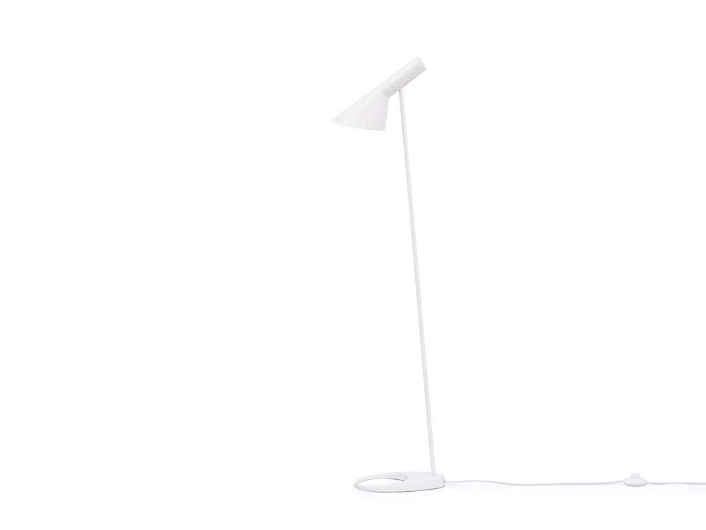 Arne Jacobsen (アルネヤコブセン) AJ フロアライト/ホワイト リプロダクト品 (東芝LED電球(昼白色 LDA6N-H/60W)) B07F72K5FT オプション:東芝LED電球(昼白色 LDA6N-H/60W)