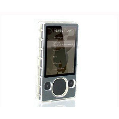 Premium Hard Crystal Case for Zune 80GB 120GB with belt clip [Electronics] ()