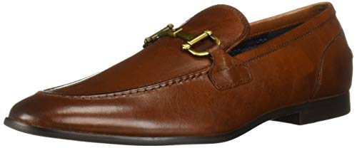 - Steve Madden Men's DEBINAIR Loafer, Cognac Leather, 11.5 M US