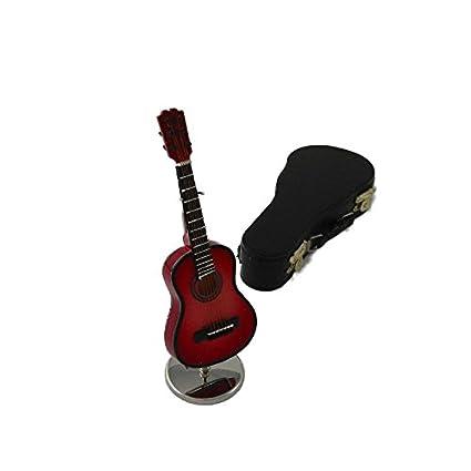 Ciaf, 2503-4667, Guitarra española decorativa roja ...