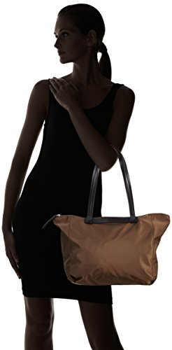 Plastic Shopping 497 mud Braun Nylon Woman Brown 9 Barcelona Bree Bag ATYSSt