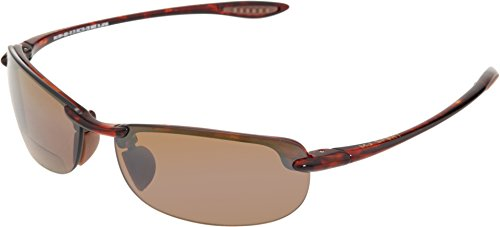 Maui Jim - Makaha Readers - Tortoise Frame-+2.50 HCL Bronze Polarized - Sunglasses 2.5
