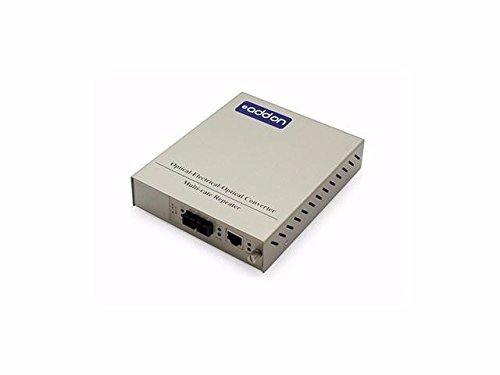 ADDON 100MBS 1 RJ-45 TO 1 SC MEDIA CONV by ADD-ON-COMPUTER PERIPHERALS, L