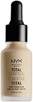 NYX Professional Makeup Base de Maquillaje Total Control Drop Foundation, de Larga duración, Cobertura Modulable y Acabado Mate, Fórmula vegana, Tono: Natural: Amazon.es: Deportes y aire libre