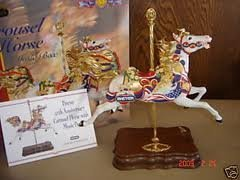 (Breyer 50th Anniversary Carousel Horse with Music Box)
