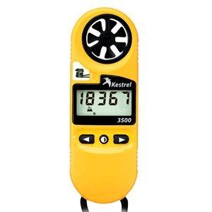Kestrel 3500 Pocket Weather Meter - Yellow