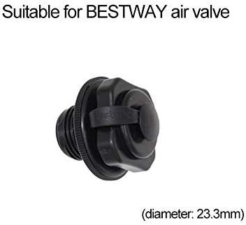 Válvula de Aire Boston de Repuesto, 1 Pieza Válvula de Tapa de válvula de Tornillo para Bote Inflable Caucho de Bote Balsa de Aire para Kayak