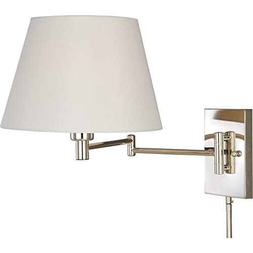 Chapeau 1 Light - Wall Sconces 1 Light Fixtures with Polished Nickel Finish Steel Material Medium 12