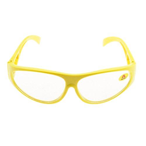 溶接 切断 安全眼鏡 全3色レンズ 保護メガメ - ライトグリーンレンズ