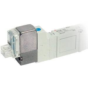 - SMC SY3120-3LZ-N7-F2 - Air Control Valve - Body Ported, 4-Way, 1 Solenoids, Number of Positions 2, 110/115 V ac Supply Voltage, L Plug, 0.29 C Flow Coefficient, 1/4 BSPT Push To Connect po
