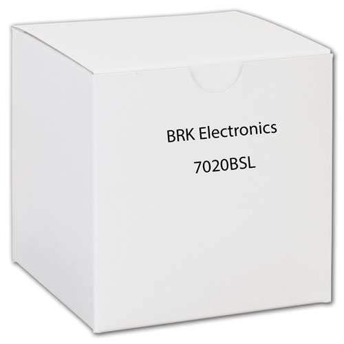BRK ELECTRONICS - (3 Pack) 7020BSL 120V Smoke/ Strobe LED Combo Alarm by BRK Electronics