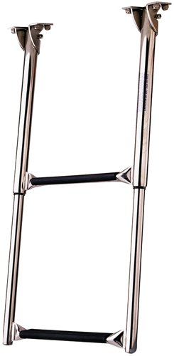 Garelick/Eez-In 19622-61:01 Over-Platform Telescoping Drop Ladder - 2 Step
