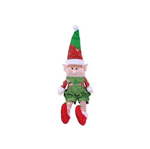 Y/&Z 2019 New Elf on The Shelf 11.8inch Soft Body Decoration elf on The Shelf Accessories-Make The Elf on The Shelf Doll Flexible and Bendable