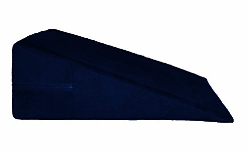Naughty Bedroom Pillow - Microsuede - Multiple Colors (8', Navy)
