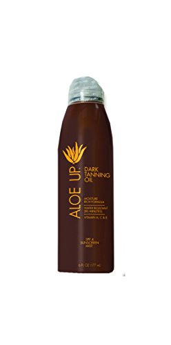 Price comparison product image Aloe Up Sun & Skin Care Products SPF 4 Dark Tanning Oil Continuous Spray