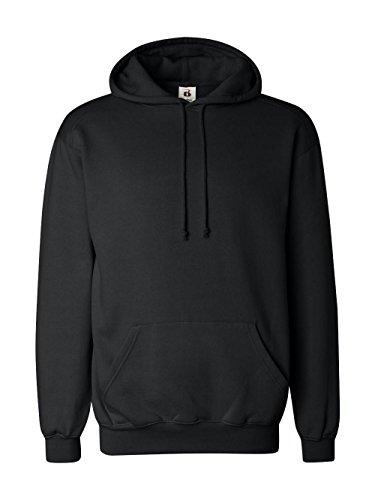 Badger 1254 BD Hooded Sweatshirt - Black BD1254 (Badger Hooded Sweatshirt)