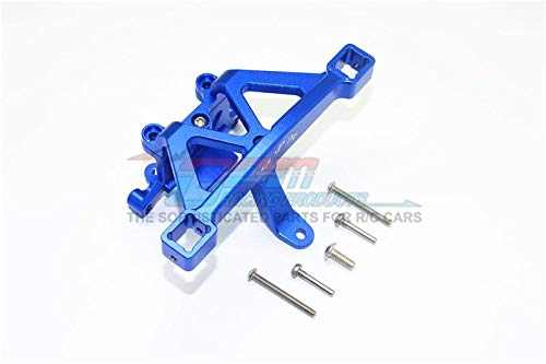 GPM Traxxas E-Revo 2.0 VXL Brushless (86086-4) Upgrade Parts Aluminum Front Body Mount - 1 Set Blue