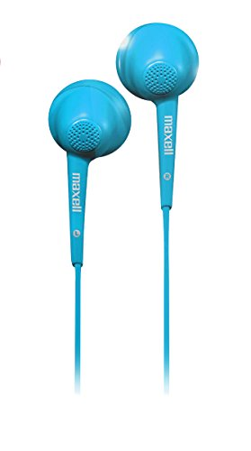 Jelleez Soft Ear Buds Blue With Mic - Maxell 191568