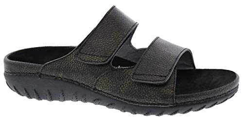 Drew Shoe Cruize 19179 Women's Casual Sandal: Black 11 Medium (B) Velcro (Removable Footbed)