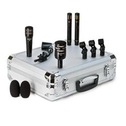 Audix DP-QUAD - Professional 4-piece Drum and Percussion Microphone Package with Mounting ()