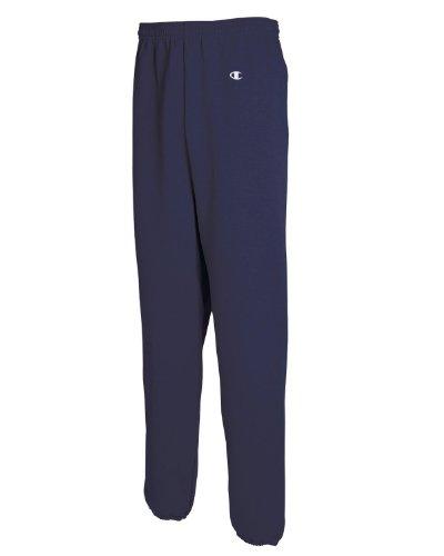 Champion Men's Double Dry Eco Fleece Pant, M-Black