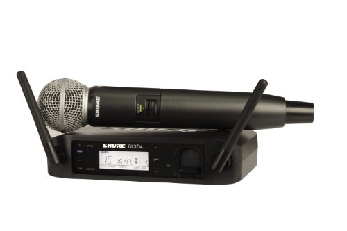 - Shure GLXD24/SM58 Digital Vocal Wireless System with SM58 Handheld Microphone, Z2
