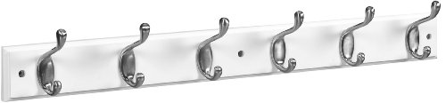 Stanley Hardware S827-105 B8170 Hookrail in Satin Nickel