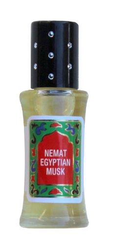 Egyptian Musk Scented Oil - Egyptian Perfume Oil - Egyptian Oil by Nemat Fragrances (10ml /0.34fl Oz)