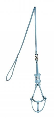 Red Bone Step - Hip Doggie Blue Bone Step-in Harness, XX-Small