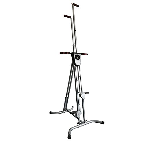 Enshey Vertical Climber Exercise Climbing Machine Stepper Cardio Exercise Total Body Workout Climber Machine Folding Climbing Machine Fitness for Home GYM Step Climber Exercise Machine