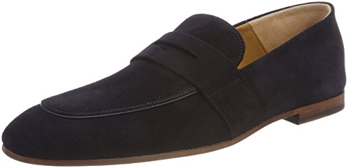 loaf Mens Shoes Blue Suede Safari BOSS v60Yqq