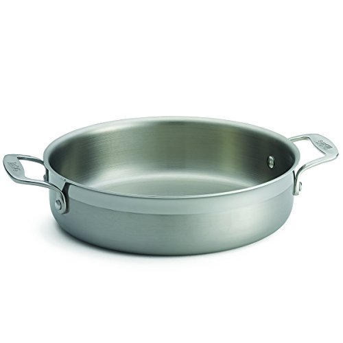 (TableCraft Products CW7010 Tri-Ply Brazier with 2 Handles,10