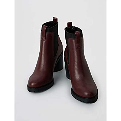 Amazon Brand - find. Chunky Sole, Women's Chelsea Heeled Boots: Shoes