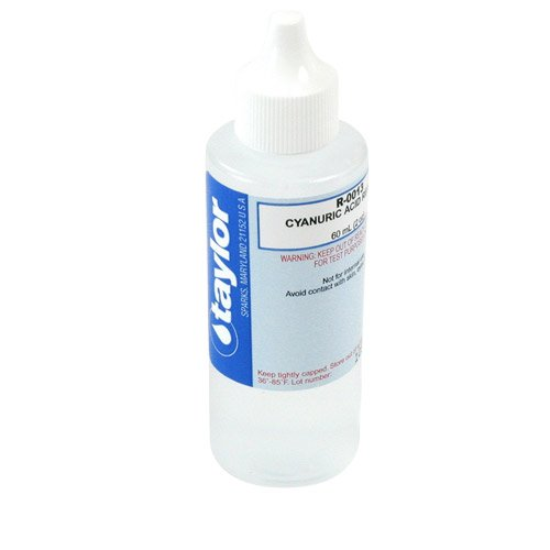 Taylor Technologies R-0013-C-12 Cyanuric Acid 2 Oz, Box of 12 by TAYLOR TECHNOLOGIES INC