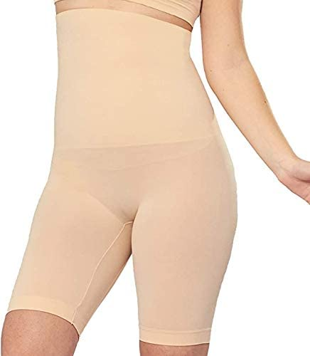 Shapermint High Waisted Body Shaper Shorts Shapewear for Women Tummy Control Thigh Slimming Technology