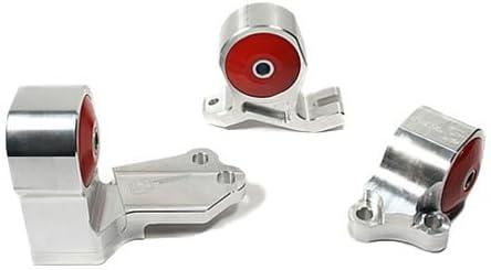 Innovative Mounts (IMTB49150-95A) Billet Hydraulic Transmission Mount Kit for Honda Civic/CRX B Series Engine