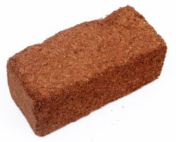 Root Naturally 650g Coconut Coir Brick - 1 pack