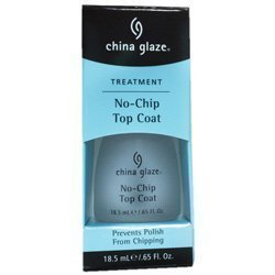 China Glaze * Treatments * No Chip Top Coat .65 Fl. Oz.