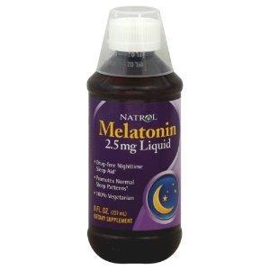 Mélatonine Natrol liquide 8 oz