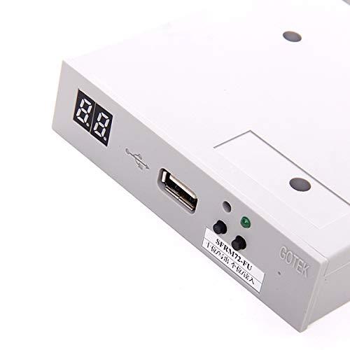 Baoblaze SFRM72-FU 720KB USB Converter Diskette Floppy Drive Adapter 720K Floppy Disk by Baoblaze (Image #9)