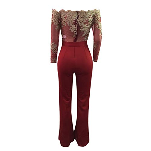 Leggings Ladies Up Amlaiworld Lace Shoulder larghi And Combination Casual Off Lace Lace FwHqwRv